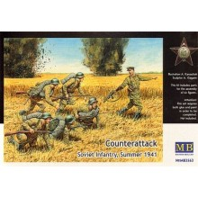 'Counter Attack' Soviet Infantry Summer 1941 1/35