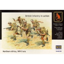 British Infantry in action, Northern Africa, WW II 1/35