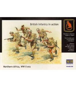 British Infantry in action, Northern Africa, WW II 1/35