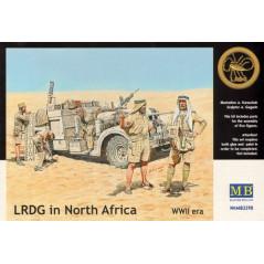 LRDG in North Africa WWII era 1/35