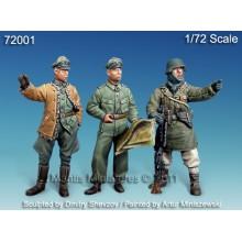 German Officers, WWII 1/72