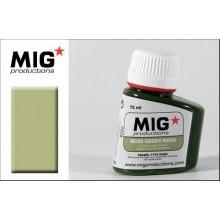 Moss Green Wash 75ML.