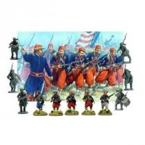 American Civil War Zouaves 1861-65 28MM.