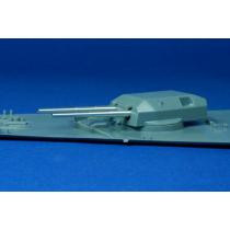 Cañones Bismarck, Tirpitz 1/350