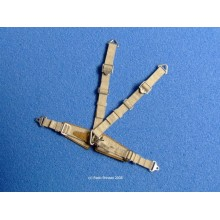 Luftwaffe Seatbelts (Beige) - Standard 1/32