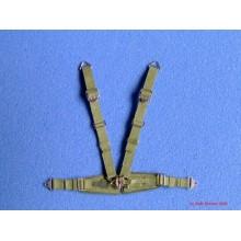 Luftwaffe Seatbelts (Green) - Orlon 1/32
