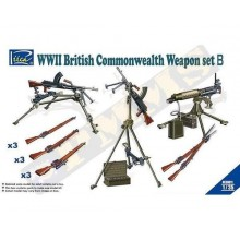 WWII British Commonwealth Weapon Set B 1/35