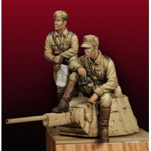 TANQUISTAS ITALIANOS WWII 1/35