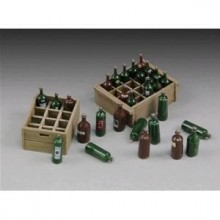 Wine bottles and crates  1/35