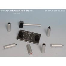 Hexagonal Punch  Die tool set