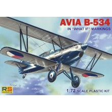 Avia B-534. Decals What if markings 5 decal 1/72 ESPAÑA
