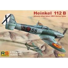 Heinkel 112 B Spain 1/72