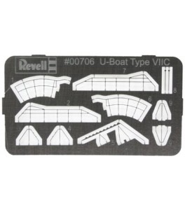 DETALLADO U-BOAT TYPE VIIC 1/350
