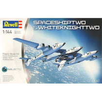 VIRGIN Space Ship Two Carrier White Knight Two 1/144