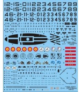 CALCAS EF-18 A/B HORNET 1/72 SERIES ESPAÑOLAS