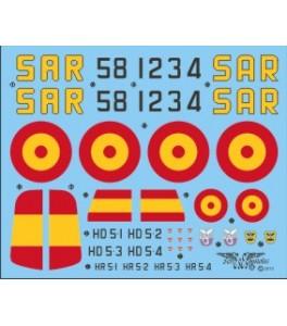 Calca Dornier Do-24 T SAR 1/72
