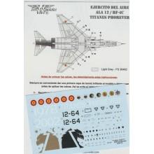 CALCAS RF-4C -ALA 12 1/72