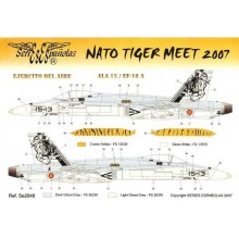 CALCA NATO TIGER MEET 2007 EF-18 A 1/48 SERIES ES