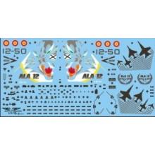 CALCA EF-18 A -ALA 12 50 ANIVERSARIO 1/48