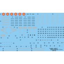 CALCAS HARRIER AV-8B PLUS/AV-8/TAV-8B 1/48