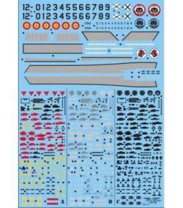 STENCILS PHANTOM RF-4C -CR 12-45/12-54 1/48