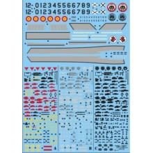 STENCILS PHANTOM RF-4C -CR 12-45/12-54 1/72