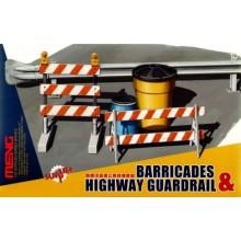 Barricades Highway Guardrail 1/35