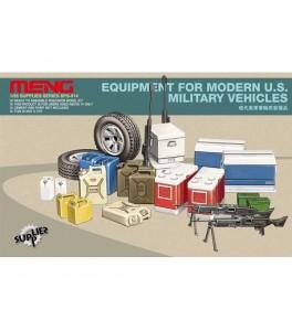 Equipment for modern U.S. Military vehicles 1/35