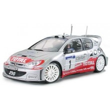 PEUGEOT 206 WRC .02 1/24 TAMIYA