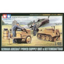 Luftwaffe Kettenkrad with Aircraft Power Sup. 1/48
