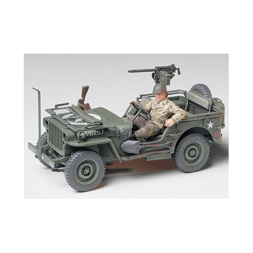 JEEP WILLYS MB 1/4 4X4 1/35 TAMIYA