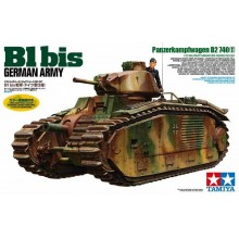 B1 BIS,GERMAN ARMY 1/35 TAMIYA