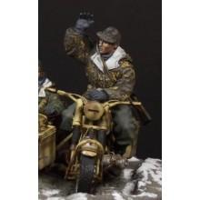 German Motorcyclist 1/35