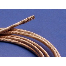 CABLE ACERO 2 MM. 1 METRO