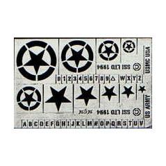 Estrellas,números y símbolos 1/76 Usa