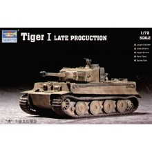 TIGER I LATE PRODUCTION 1/72 TRUMPETER