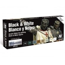 Model Color SET 17ml - Blancos y Negros