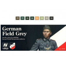 Model Color SET 17ml - German Field Grey Uniform