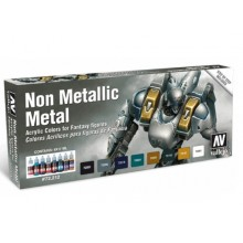 Game Color Set - Non Metallic Metal Scale