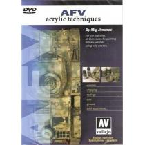 AFV TÉCNICAS CON ACRÍLICOS EN DVD