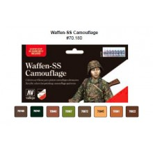 Model Color SET 17ml - Waffen-SS Camouflage Set