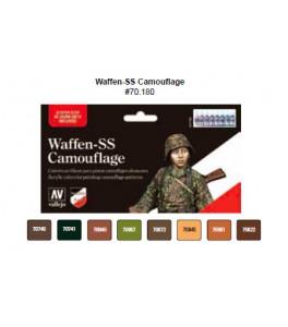 Model Color SET 17ml - Waffen-SS Camouflage Set
