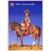 Generale Lasalle Mounted Figure 90 MM.
