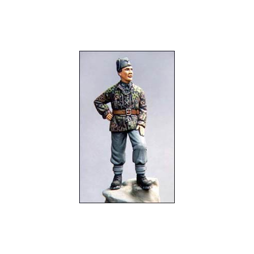 Officer SS Handschar Div. camouf. 1/35