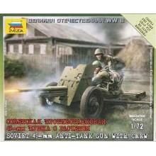 45mm Soviet Field Gun 1/72