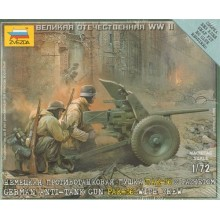 German Pak-36 with Crew 1/72