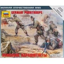 German (WWII) Paratroops 1/72