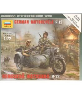 German Motorcycle BMW R-12 1/72