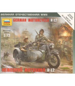 German Motorcycle BMW R-12 1/72