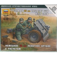 German 75mm Gun 1/72